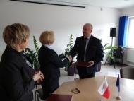 """2017.02.08 - Podpisanie umowy z Inżynierem Kontraktu w ramach projektu p.n.: """"Modernizacja i rozbudowa oczyszczalni ścieków w Połczynie-Zdroju"""""""